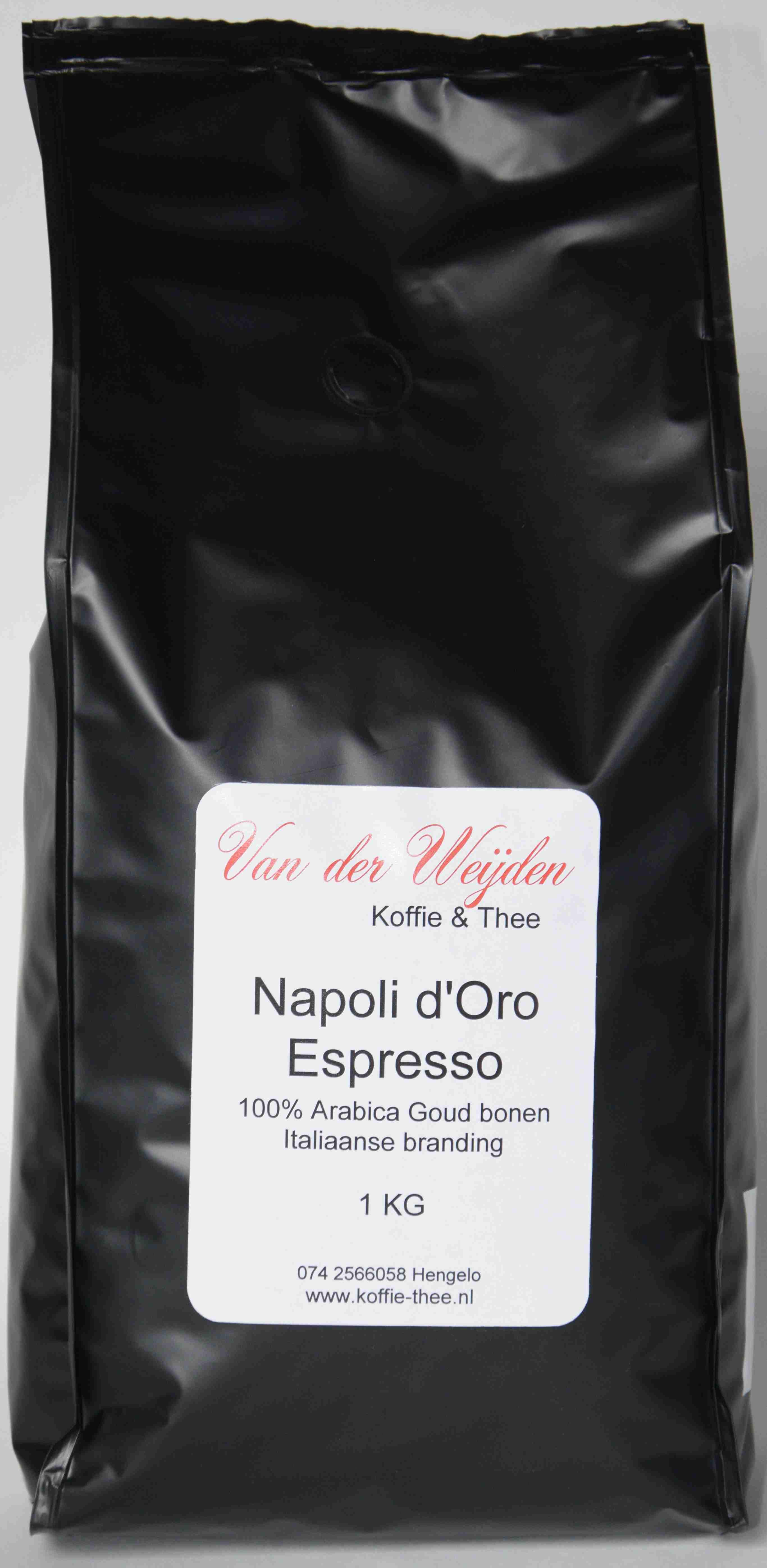 Napoli D'Oro Espresso (Doos 8 x 1 kg)